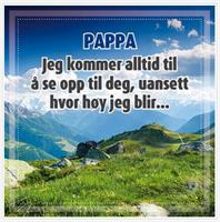 Magnetramme Tinka Qoutes- Pappa