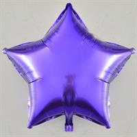 Folie - stjerne / lavendel 4 stk