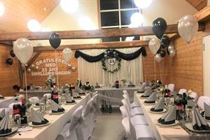 Bryllupsdagen Sølv og Svart 25