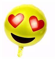 Folie - Emoji love balloon