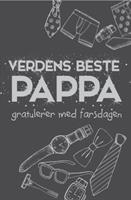 Farsdagskort - Verdens Beste Pappa