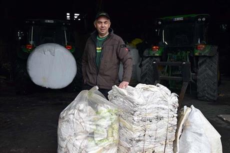 Felleskjøpet vil hente landbruksplast på gårdene