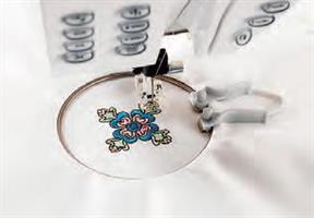Husqvarna VIKING Mini Embroidery spring hoop 40x40