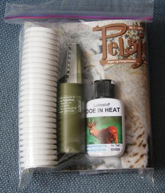 Pelsjeger lokkepakke for hjort og rådyr