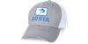 Costa Marlin Fitted Stretch Trucker Hat - gray/white