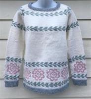 Bergblomma genser