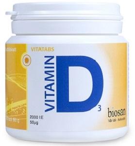 D vitamin 50µg 300t