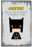 Farsdagskort - Super Helt
