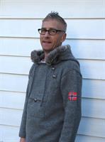 Mønsterhefte Norsk Strikkeanorakk Voksen XS-XXXL