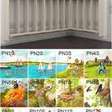 Sommar 12 olika motiv