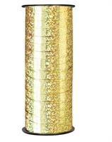 90 meter Julebånd-  Gull farge glitrende