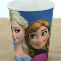 8 stk Papirkopp - Frozen (Frost)