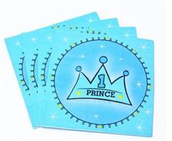 20 Stk Blå Prince Serviett