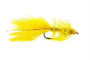 Wolly Bagger Yellow Cone Head Streamer #8