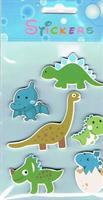 Stickers DINOSAURER (tre)