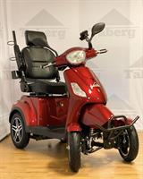 Taberg DDF081 promenadscooter röd