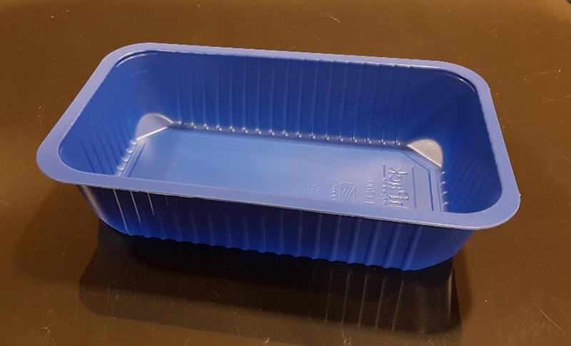 PP Flerport. Form 1/4 GN 1-f 1,7 l blå  270 st