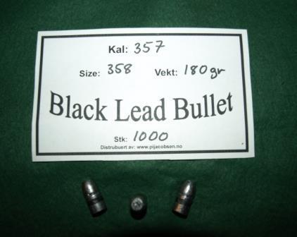 Black Lead Bullet
