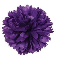 Pom Poms - Purple 20cm