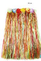 Hawaii Hula Skjørt 80 cm Flerfarge