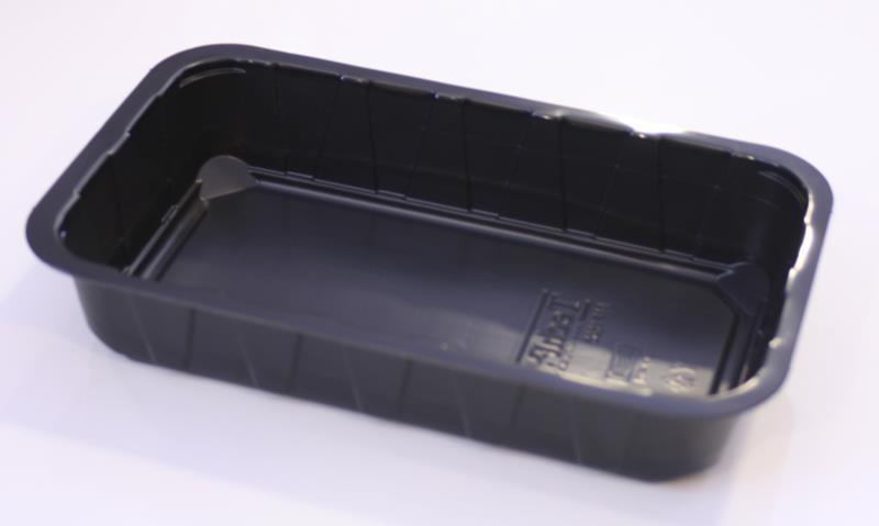 PP Flerport. Form 1/4 GN 1-f 1,5 l svart 270 st