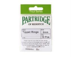 Partridge Tippet Rings 2mm