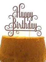 Kaketopp Happy Birthday Brunn