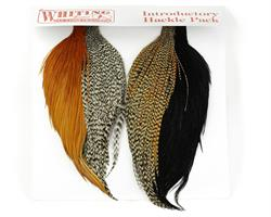 Whiting Introd. Hackle Pack (4 half capes)
