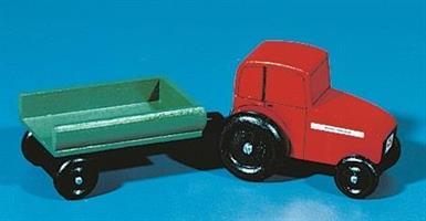 Traktor med henger