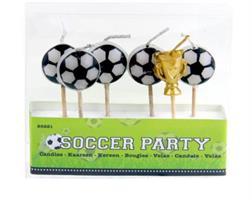 Kakelys - Fotball med pokal