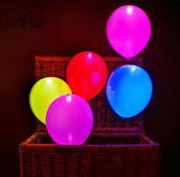 Latex - neon ballonger  flerfarge