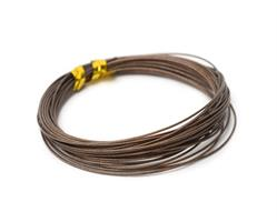 Partridge Bauer Pike  Leader Wire 40lb - Brown