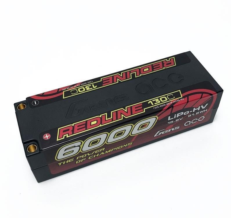GENS ACE - LiPo 6000 4S HV HardCase 15.2V - 130C