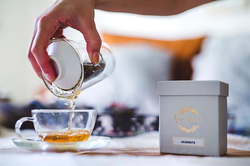 Online - teprovning med Gretas te