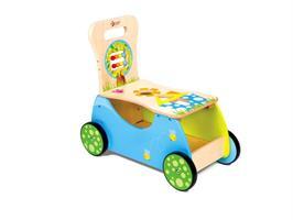 Bil med sittplats