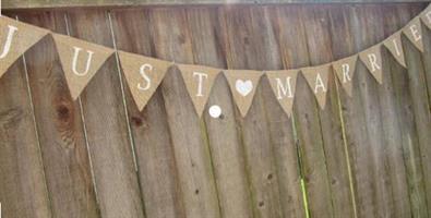 Rustikk Bryllup banner