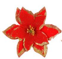 Juleblomst Silke/Kunstige - Rød