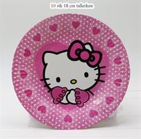 Papptallerken - Hello Kitty