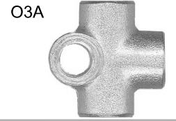 T-Stykke Bremserør M10x1