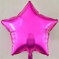 Folie - stjerne / purple 4 stk